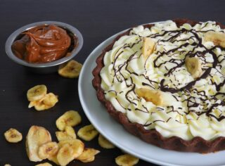 Tarta de Banana Split